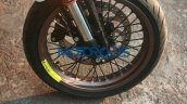 Husqvarna Vitpilen 401 spied up close front wheel