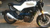 Husqvarna Vitpilen 401 spied up close right side