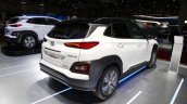 Hyundai Kona Electric rear three quarters at 2018 Geneva Motor Show