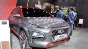 Hyundai Kona at Auto Expo 2018 front angle