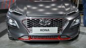 Hyundai Kona at Auto Expo 2018 nose