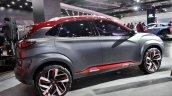 Hyundai Kona at Auto Expo 2018 side angle
