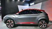 Hyundai Kona at Auto Expo 2018 side