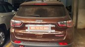 Jeep Compass Trailhawk rear spy shot India