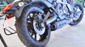 Kawasaki Vulcan S rear brake at 2018 Auto Expo