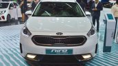 Kia Niro plug-in hybrid front at Auto Expo 2018