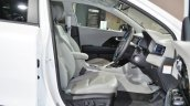 Kia Niro plug-in hybrid front seats at Auto Expo 2018