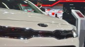Kia Rio Tiger-Nose grille at Auto Expo 2018