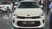 Kia Rio front at Auto Expo 2018