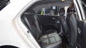 Kia Rio rear seats at Auto Expo 2018