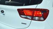 Kia Rio tail lamp side view at Auto Expo 2018