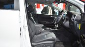 Kia Sportage front seats at Auto Expo 2018