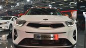 Kia Stonic front at Auto Expo 2018