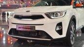 Kia Stonic front fascia at Auto Expo 2018