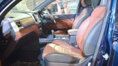 Mahindra Rexton front seats at Auto Expo 2018