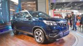 Mahindra Rexton front three quarters right side at Auto Expo 2018