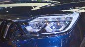 Mahindra Rexton headlamp at Auto Expo 2018