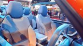 Mahindra TUV Stinger concept front seats at Auto Expo 2018