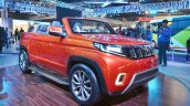 Mahindra TUV Stinger concept front three quarters right side at Auto Expo 2018