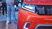 Mahindra TUV Stinger concept headlamp at Auto Expo 2018