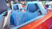 Mahindra TUV Stinger concept rear seats at Auto Expo 2018