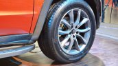 Mahindra TUV Stinger concept wheel at Auto Expo 2018