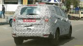 Mahindra U321 MPV spy shot rear angle