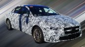 Mercedes A-Class Sedan (V177) front three quarters spy shot