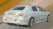 Mercedes A-Class Sedan (V177) rear three quarters spy shot