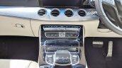 Mercedes E-Class All-Terrain centre console at Auto Expo 2018