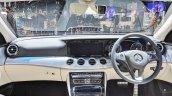 Mercedes E-Class All-Terrain dashboard at Auto Expo 2018