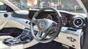 Mercedes E-Class All-Terrain dashboard side view at Auto Expo 2018