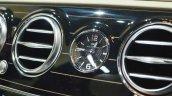 Mercedes-Maybach S 650 Saloon clock at Auto Expo 2018