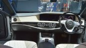Mercedes-Maybach S 650 Saloon dashboard at Auto Expo 2018