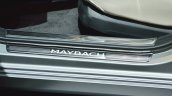 Mercedes-Maybach S 650 Saloon door sill at Auto Expo 2018
