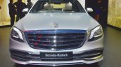 Mercedes-Maybach S 650 Saloon front at Auto Expo 2018