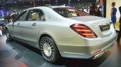 Mercedes-Maybach S 650 Saloon rear three quarters at Auto Expo 2018