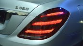 Mercedes-Maybach S 650 Saloon tail lamp at Auto Expo 2018