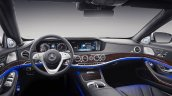 Mercedes-Maybach S-Class with customisations interior dashboard