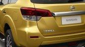 Nissan Terra rear fascia
