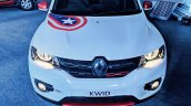 Renault Kwid Captain America Edition front