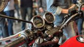 Royal Enfield Thunderbird 350X Red cockpit India launch