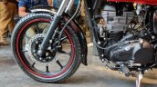 Royal Enfield Thunderbird 350X Red front wheel India launch