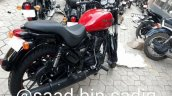 Royal Enfield Thunderbird 350X Red spied ahead of launch rear right quarter