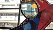 Royal Enfield Thunderbird 350X rear view mirror India launch