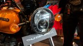 Royal Enfield Thunderbird 500X Orange headlight India launch