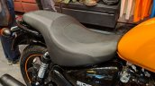 Royal Enfield Thunderbird 500X Orange seat India launch