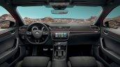Skoda Superb Sportline interior dashboard