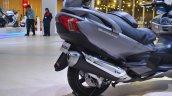 Suzuki Burgman 650 exhaust at 2018 Auto Expo