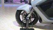 Suzuki Burgman 650 front wheel at 2018 Auto Expo